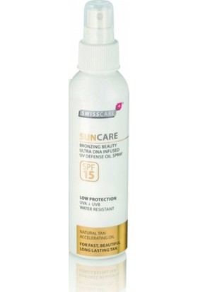 Swisscare SunCare Bronzing Beauty Defense Oil Sprey SPF15 150ml