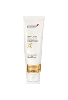 Swisscare SunCare Bronzing Beauty Defense Lotion SPF15 150ml