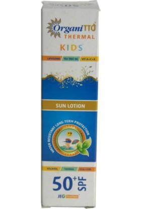TTO OrganiTTO Thermal Kids Güneş Losyonu 100ml