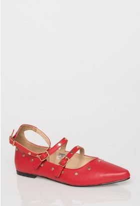 Defacto İnce Bantlı Trok Detaylı Ayakkabı