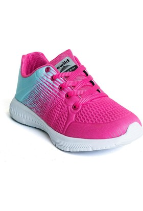 Bewild Bayan Spor Ayakkabı Pembe&Turkuaz Bw6011