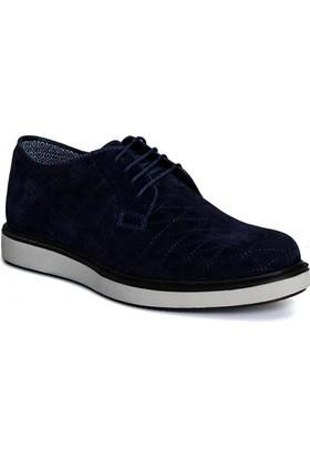 Conteyner Erkek Ayakkabı Velvet Lacivert 277