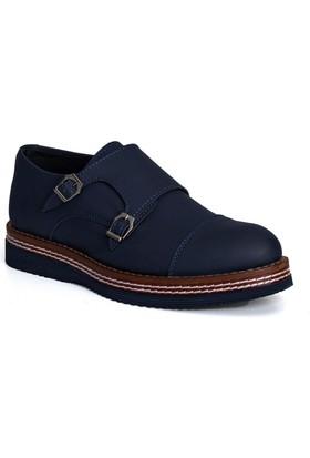Conteyner Erkek Ayakkabı Mat Lacivert 704