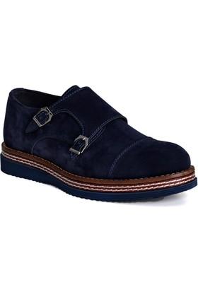 Conteyner Erkek Ayakkabı Velvet Lacivert 704