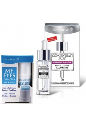 Incarose A+C+E+F Vitamins 15ml + My Eyes Complex Stick Plus 5ml Kofre