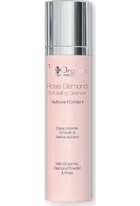 The Organic Pharmacy Rose Diamond Exfoliating Cleanser 120ml