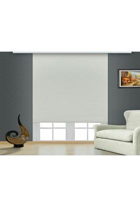 Brillant Blackout Karartma Işık Geçirmeyen Stor Perde Beyaz MS1800