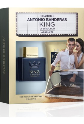 Antonio Banderas King Of Sed Absolute EDT Parfüm 100 ml+After Shave Balsam 75 ml