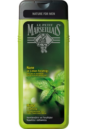 Le Petit Marseillais Nane ve Limon Ferahlığı Duş Jeli 400 ml