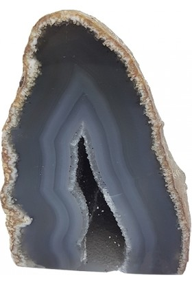 Tevuli Gümüş 925 Ayar Ametist Kalsedon Kuvars Dekoratif Taş 315007