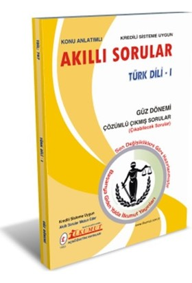 İlkumut Aöf - Türk Dili - I