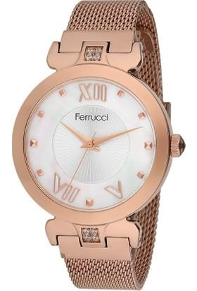 Ferrucci FC11962H.02 Hasır Kordonlu Kadın Kol Saati
