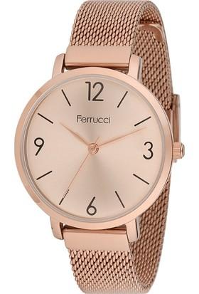 Ferrucci FC12231H.01 Hasır Kordonlu Kadın Kol Saati