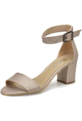 Butigo 18S-250 Altın Kadın Ayakkabı