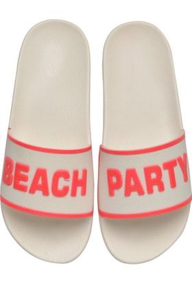 Butigo Beach*40Z Pembe Beyaz Kadın 452