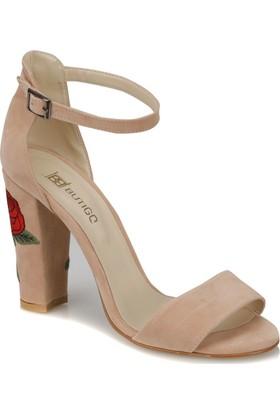 Butigo Lena*04Z Pudra Kadın Ayakkabı