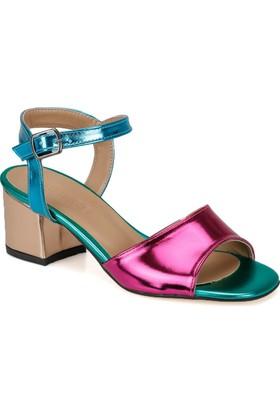 Butigo Tria37Z Fuşya Kadın Sandalet