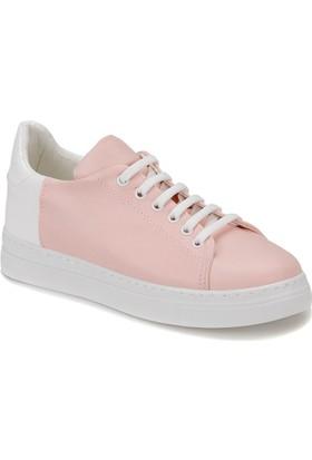 Butigo Zona Z Pudra Beyaz Kadın Sneaker Ayakkabı