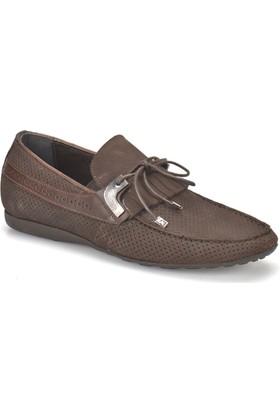 Garamond 1778 Kahverengi Erkek Deri Ayakkabı