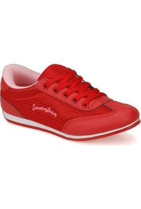 Seventeen Sva340 Kırmızı Kız Çocuk Sneaker