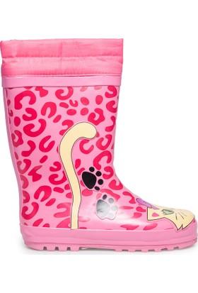 Pink Step Kız Çocuk Çizme Cats2