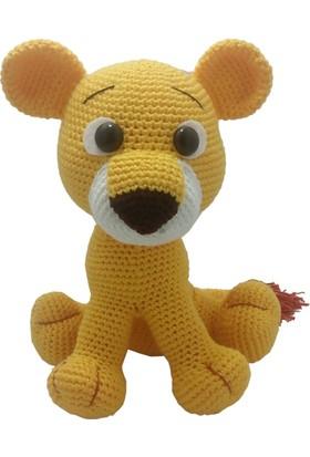 Knitting Toy Yavru Aslan Simba El Örgüsü (Amigurumi) Organik Oyuncak