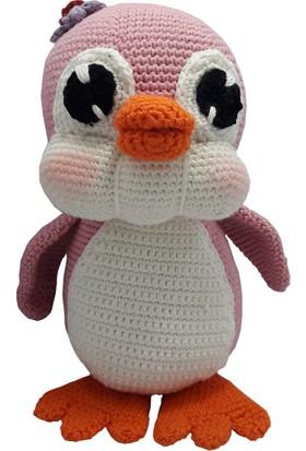 Knitting Toy Penguen El Örgüsü (Amigurumi) Organik Oyuncak