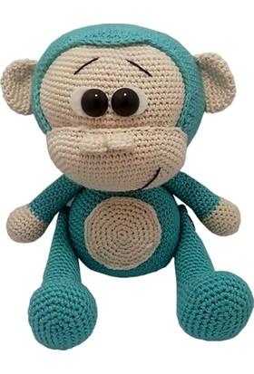 Knitting Toy Sevimli Maymuncuk El Örgüsü (Amigurumi) Organik Oyuncak