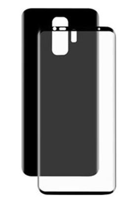 Dafoni Samsung Galaxy S9 Plus Curve Darbe Emici Siyah Ön+Arka Ekran Koruyucu Film