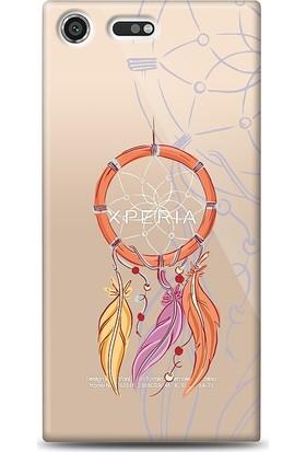 Eiroo Sony Xperia XZ Premium Dream Catcher Kılıf