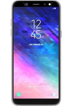 Eiroo Samsung Galaxy A6 Plus 2018 Tempered Glass Cam Ekran Koruyucu