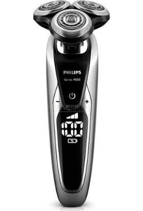 Philips 9000 Serisi S9711/31 Smart Clean Sistemi Islak-Kuru Şarjlı Tıraş Makinesi Sakal Şekillendirici ile