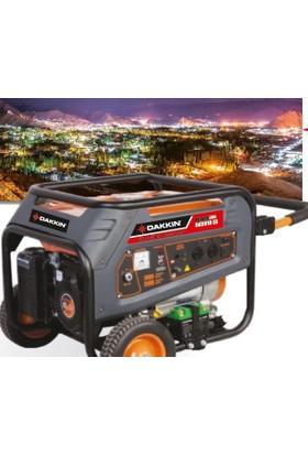 Dakkın Rd 7910 Ex Benzinli Jeneratör 5000 Watt