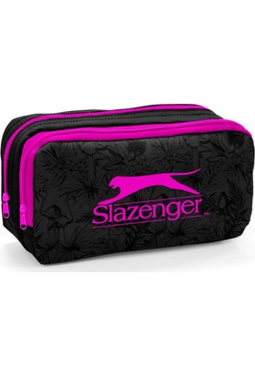 Slazenger Pembe - Siyah Kalem Çantası 12441
