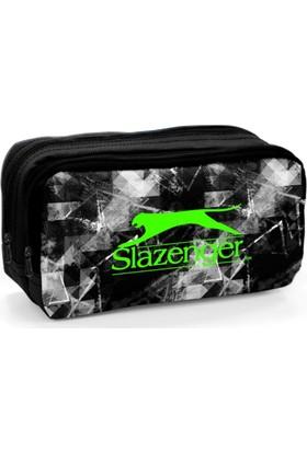 Slazenger Siyah Beyaz Desenli Kalem Çantası 12438