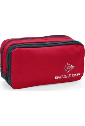 Dunlop Kırmızı - Gri İki Bölmeli Kalemlik 12376