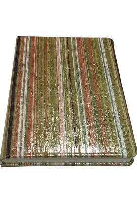 Victoria's Journals Karisma Tex 80 Yaprak Çizgili Flexy Yeşil Bloknot 14x20 cm