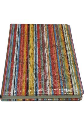 Victoria's Journals Karisma Tex 80 Yaprak Çizgili Flexy Kırmızı Bloknot 14x20 cm