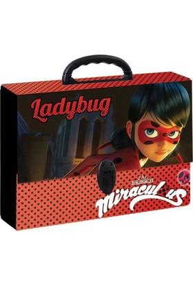 Keskin Color Miraculous Ladybug Kırmızı Saplı Proje Çantası