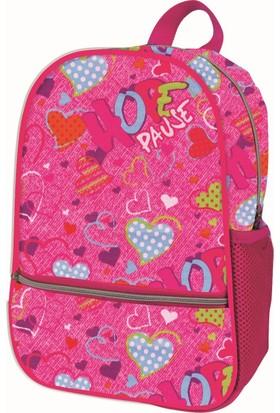 Trendix Pembe Kalpli Kız Çocuk Anaokulu Çantası