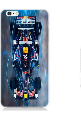 Teknomeg Apple iPhone 6s F1 Red Bull Desenli Silikon Kılıf