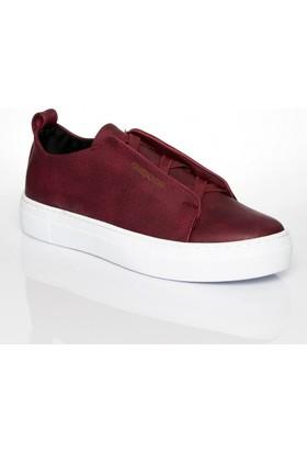 Chekich 013 Bordo Bagcıksız Erkek Ayakkabı