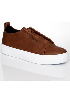 Chekich 013 Taba Bagcıksız Ayakkabı