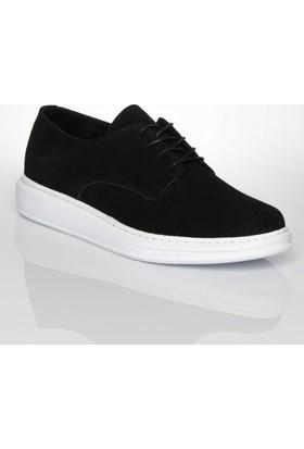 Chekich 03 Siyah Süet Erkek Ayakkabı
