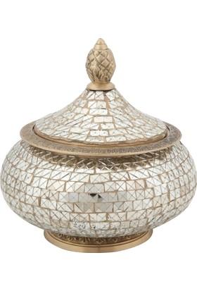 Allmode Rjn Dekoratıf Kutu Gold Ro.6355