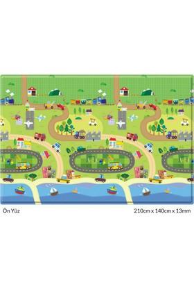 Unigo Comflor Prime Happy Village Oyun Matı / Halısı