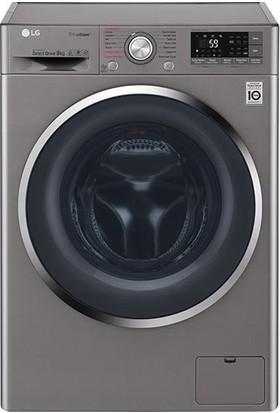 LG F4J8VSP2S 9Kg Yıkama Wifi Kablosuz Uzaktan Bağlanma Turbowash Çamaşır Makinesi