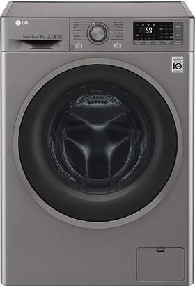 LG F4J7VNP8S A+++ 1400 Devir 9 kg Çamaşır Makinesi
