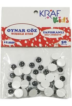 Kraf Kids Oynar Göz 10 MM 50 Lİ KK55