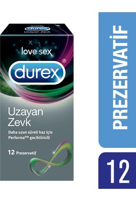 Durex Uzayan Zevk 12'li Prezervatif